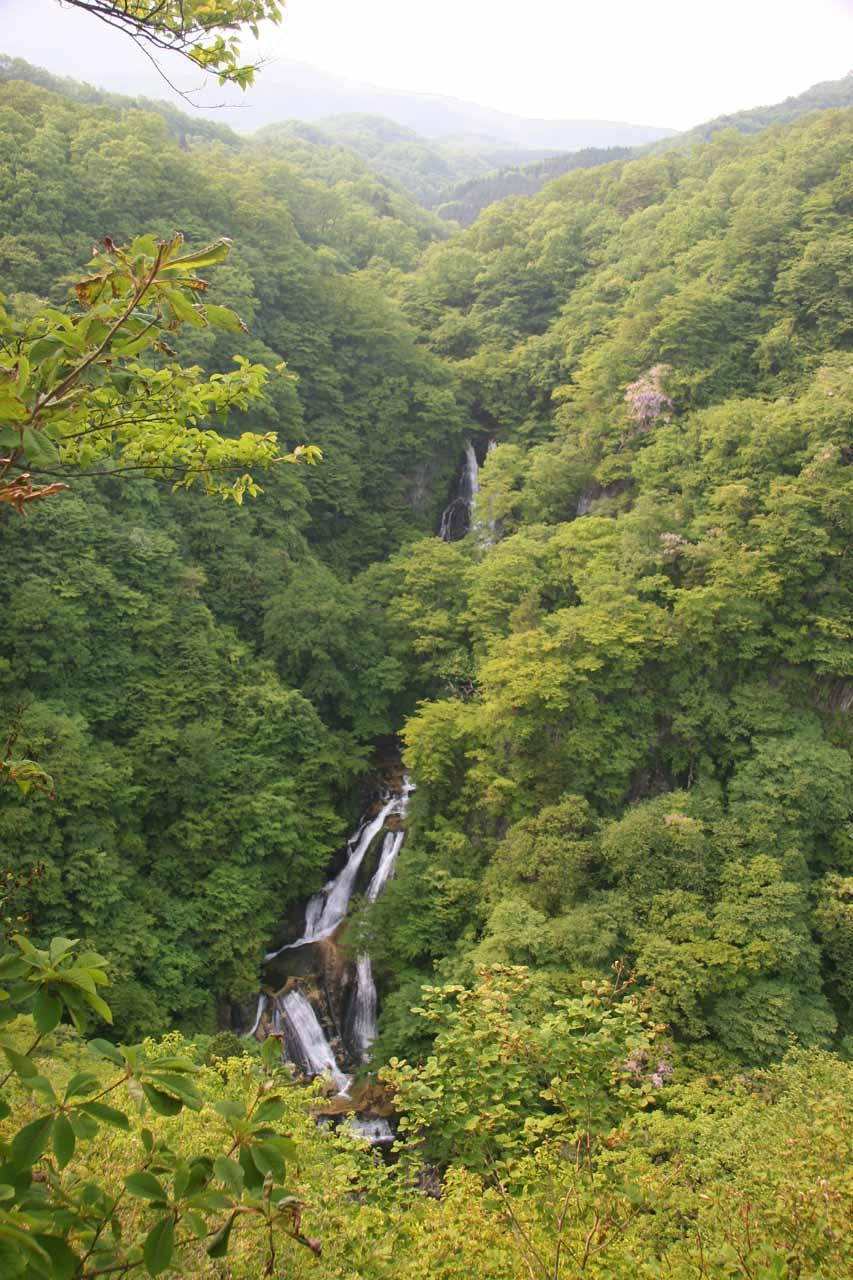 Our first look at the Kirifuri Waterfall