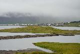 Kirkjufellsfoss_007_08172021 - Looking towards Grundarfjordur from Kirkjufellsfoss