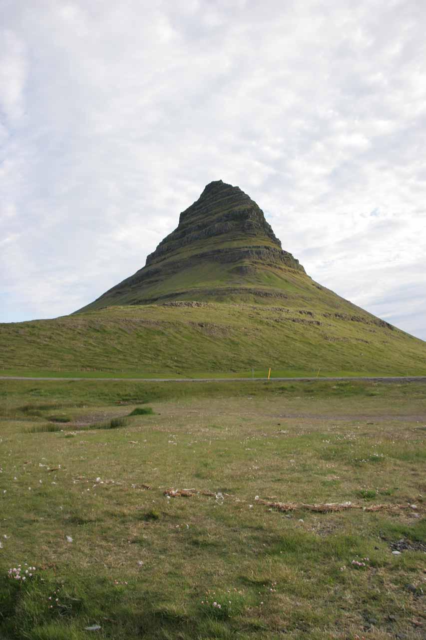 I believe this is Kirkjufell mountain