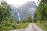 Kjenndalsbreen_338_07192019 - Back on the Fv723 after leaving Kjenndalstova, where we got to see Ramnefjellsfossen again on the way out