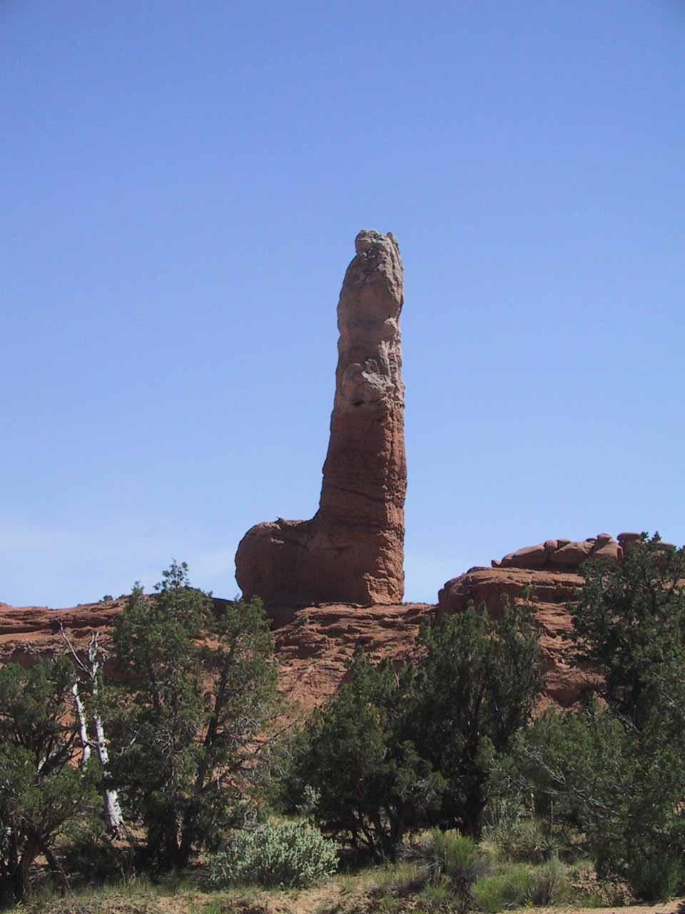 A phallic formation at Kodachrome Basin State Park