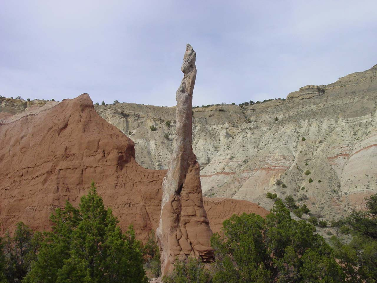 The Ballerina Spire in Kodachrome Basin State Park