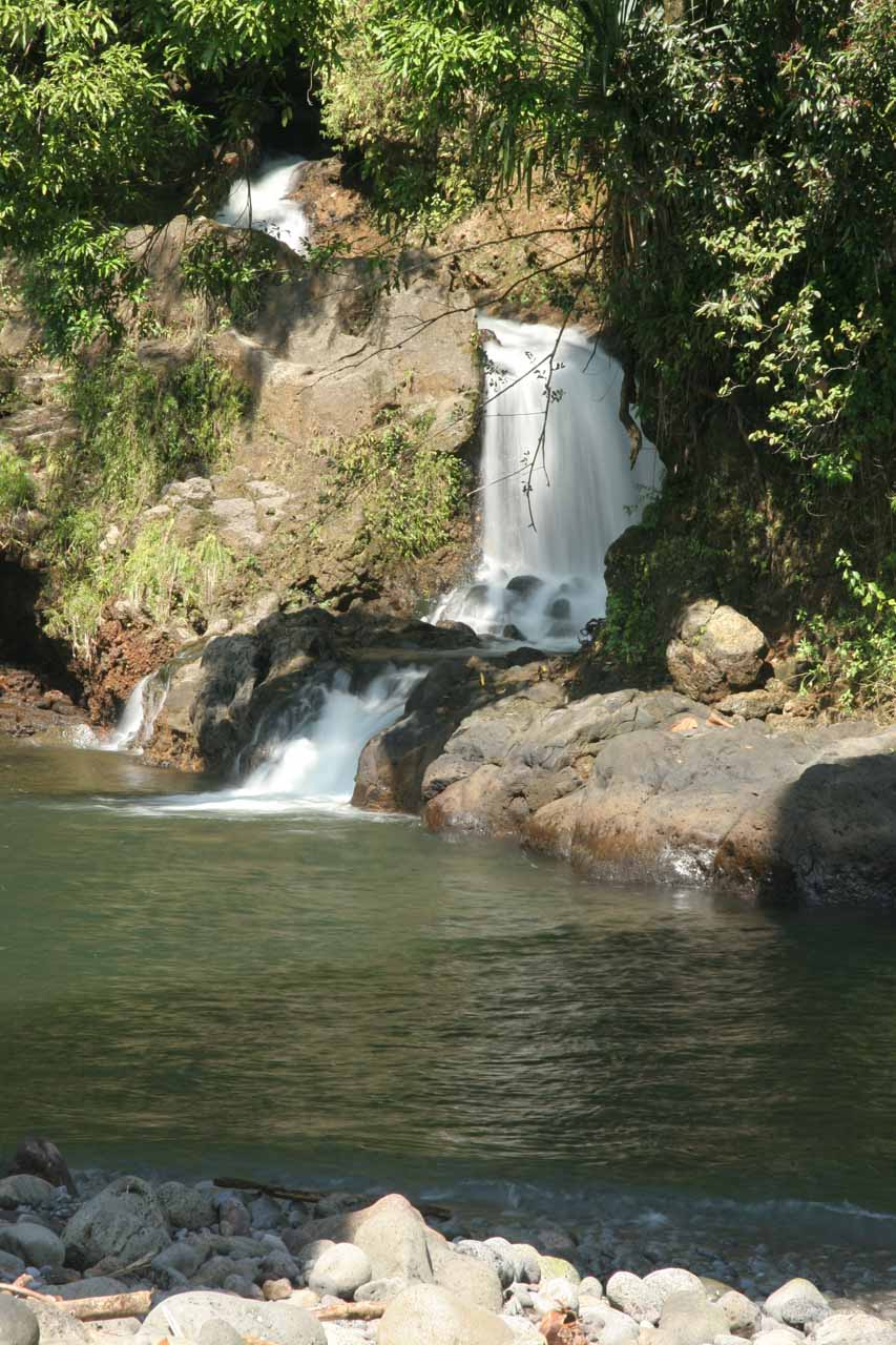 The falls at Kolekole Beach Park