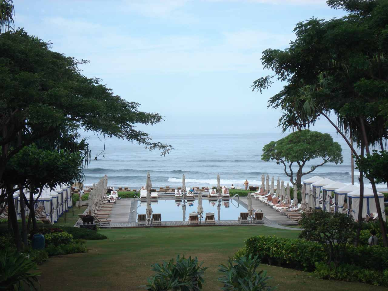 At the Four Seasons Resort