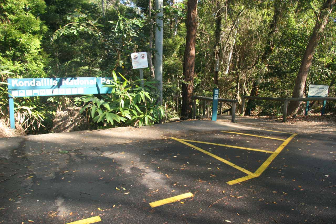 The Kondalilla Falls Trailhead