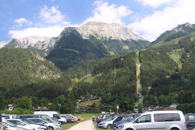 Konigssee_004_07012018 - The huge car park at Schonau am Konigssee