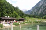 Konigssee_130_07012018 - Lots of people waiting to get onto the return boat from Salet at the far end of Lake Konigssee