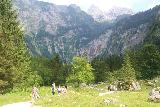 Konigssee_159_07012018 - Beyond the cafe, the trail passed through this valley with the Roethbachfall becoming more and more visible in the distance