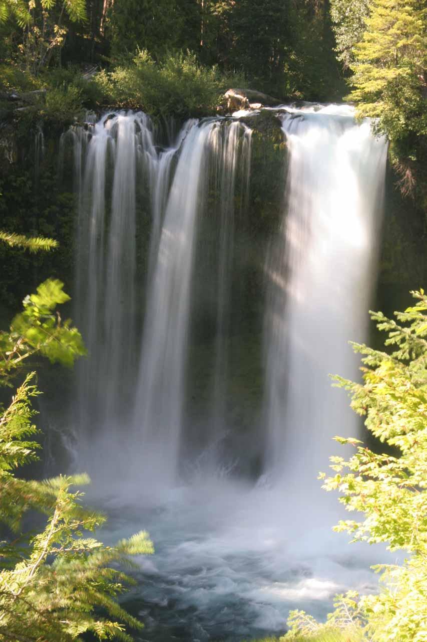All zoomed in on Koosah Falls