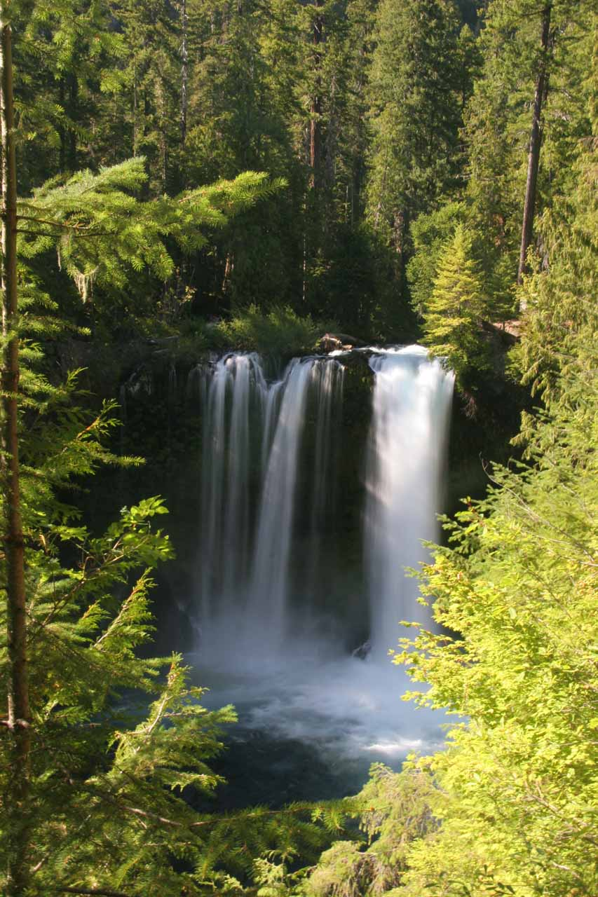 Closer look at Koosah Falls