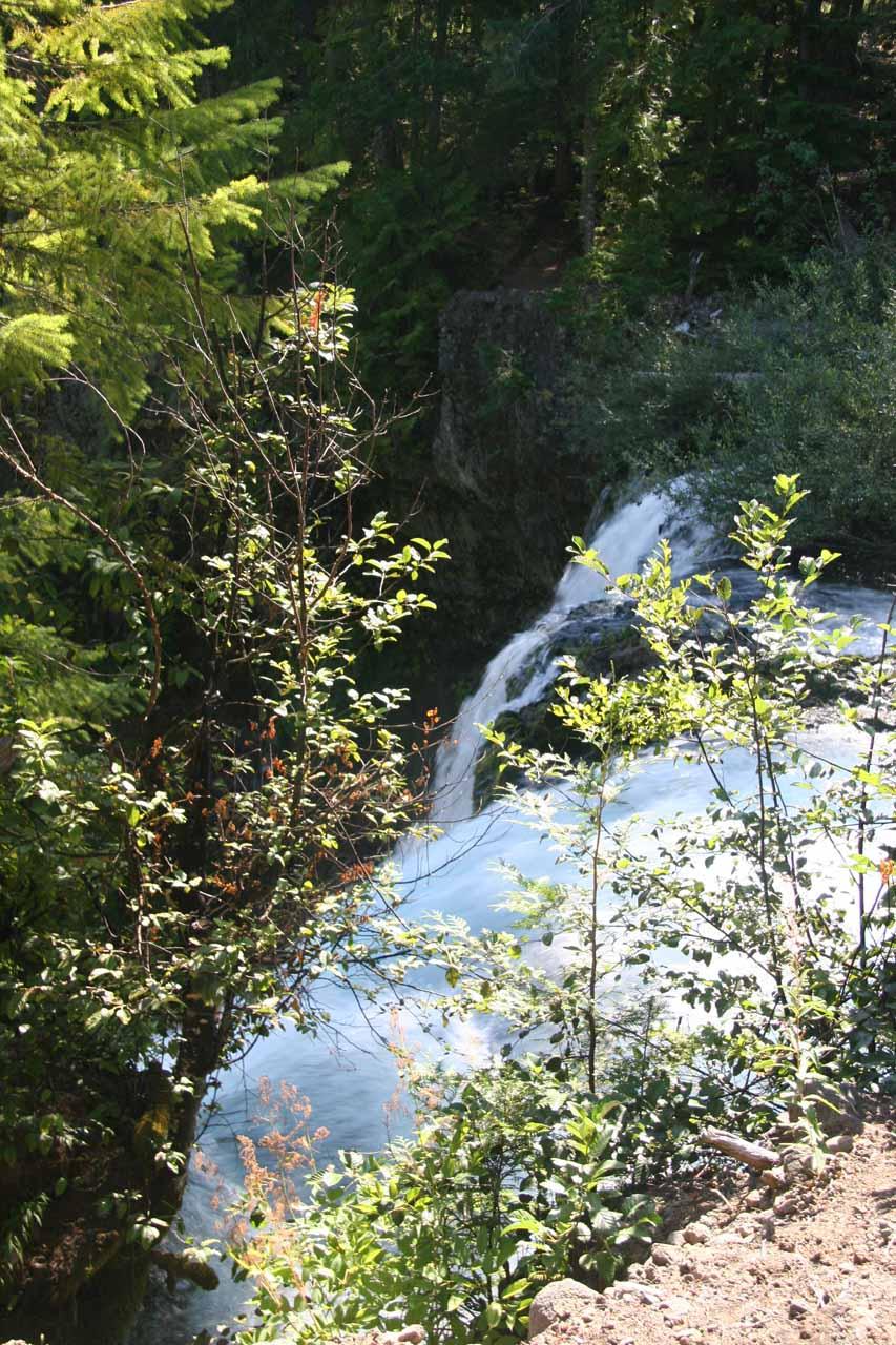 The brink of Koosah Falls