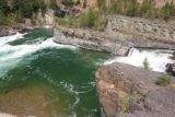 Kootenai_Falls_100_08052017 - Looking across at yet another one of the tectonic folds giving rise to yet another intermediate waterfall on the Kootenai River