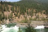 Kootenai_Falls_132_08052017 - Looking back towards one of the intermediate steps on the Kootenai River that revealed some of the geologic history that gave rise to the Kootenai Falls