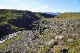 Kornsa_081_08162021 - Continuing along the rim of Kornsa Canyon while on the hunt for more waterfalls
