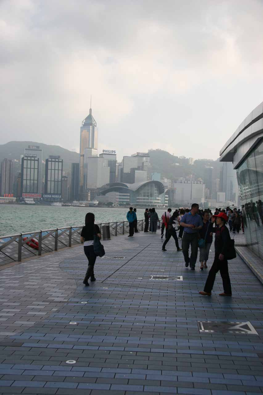 The Avenue of the Stars at Kowloon