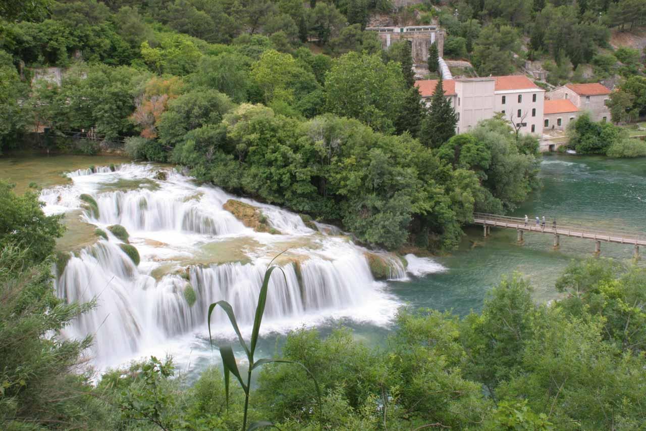 Skradinski Buk - one of the main waterfall networks in Krka National Park
