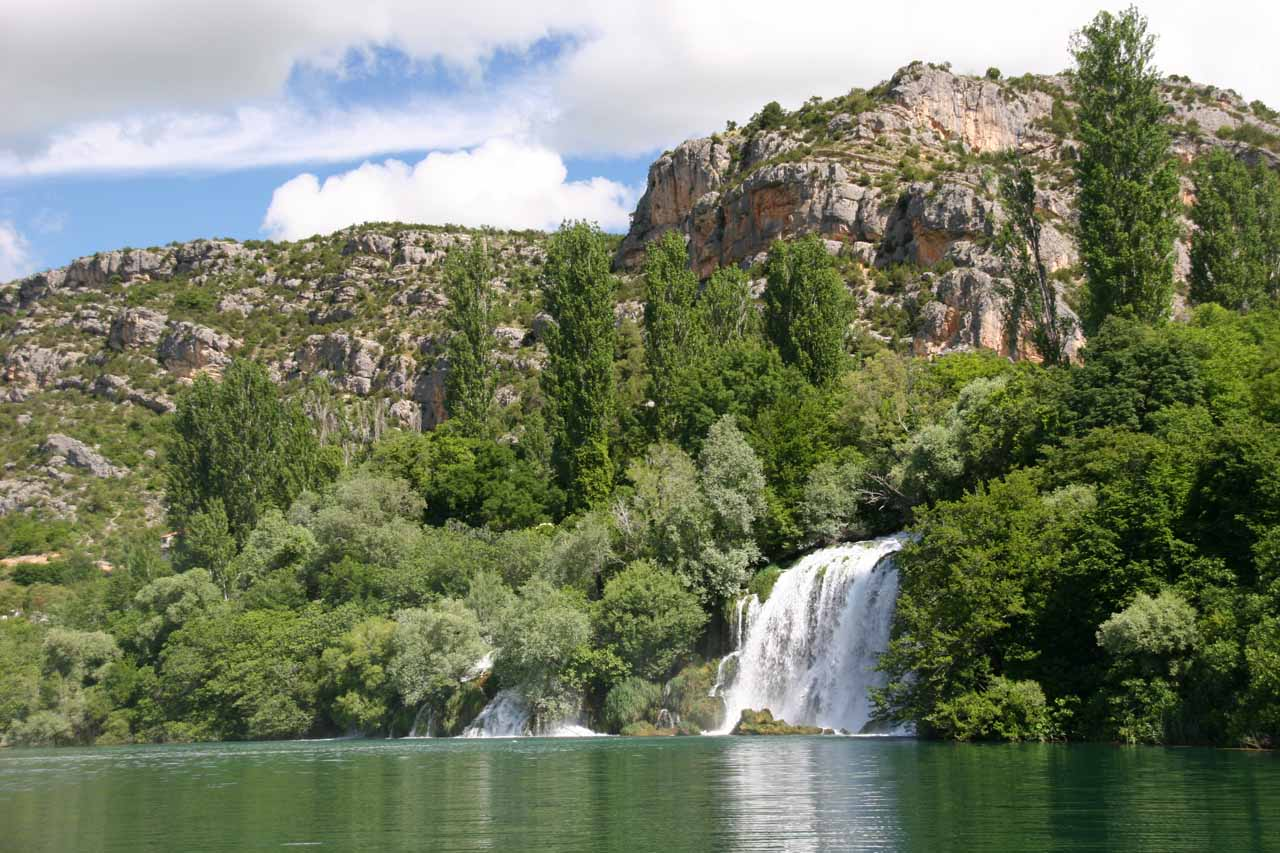 Roski Slap - the other of the main waterfall networks in Krka National Park