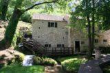 Krka_287_06032010 - Some buildings containing water mills next to Mlinovi Falls
