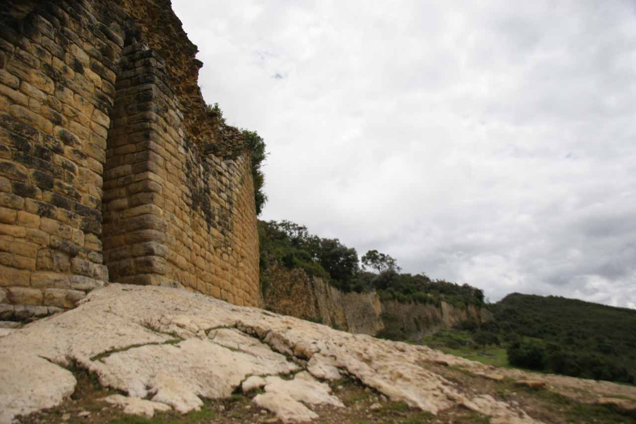 After visiting Gocta, we went to Kuelap, which was a mountaintop ruin near Chachapoyas