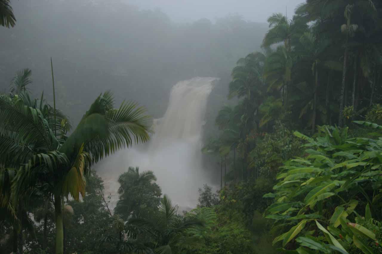 Kulaniapia Falls in an angry mood
