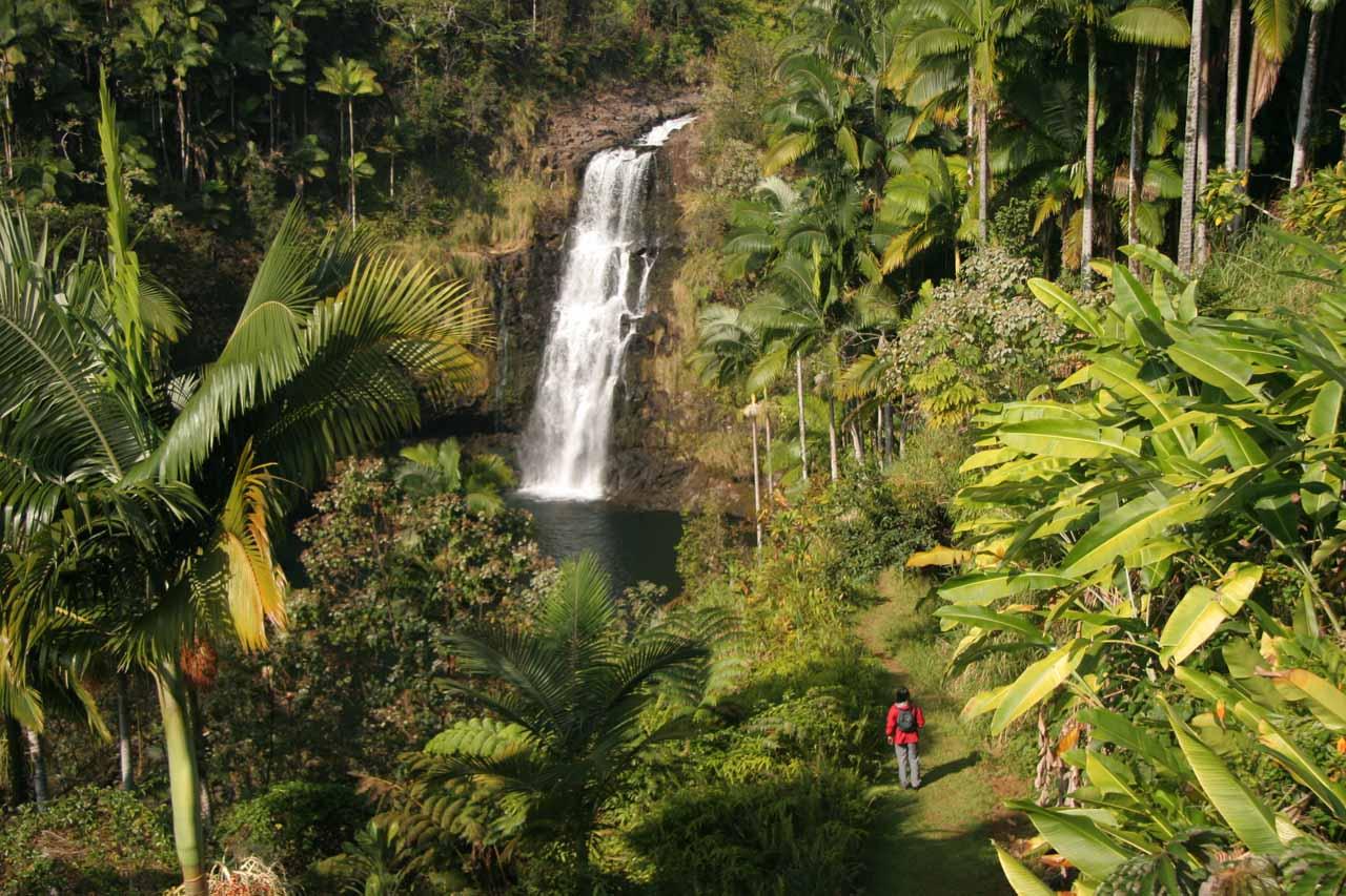 Parting shots of Kulaniapia Falls