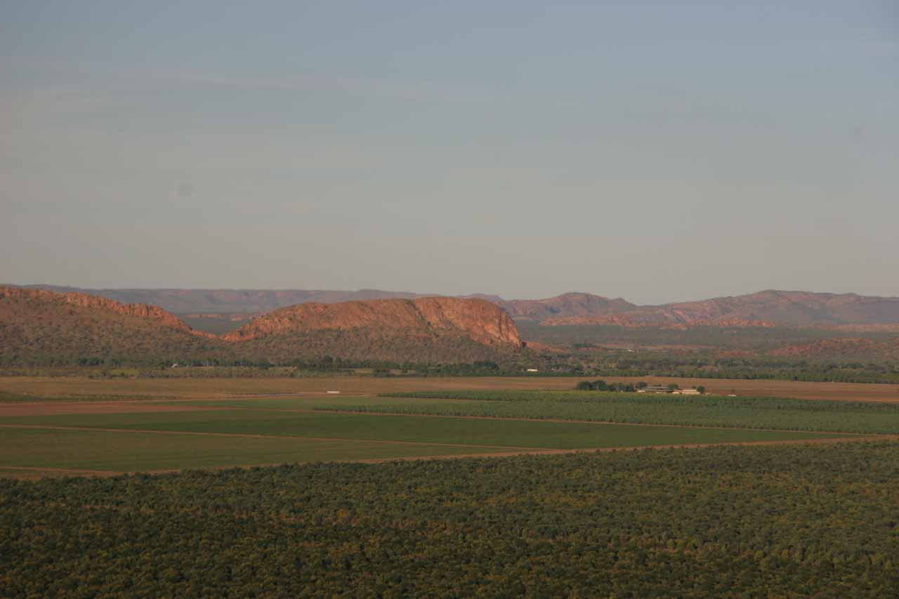 Some aerial scenery around Kununurra