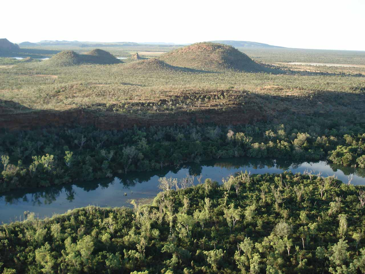 Looking across the Ord River