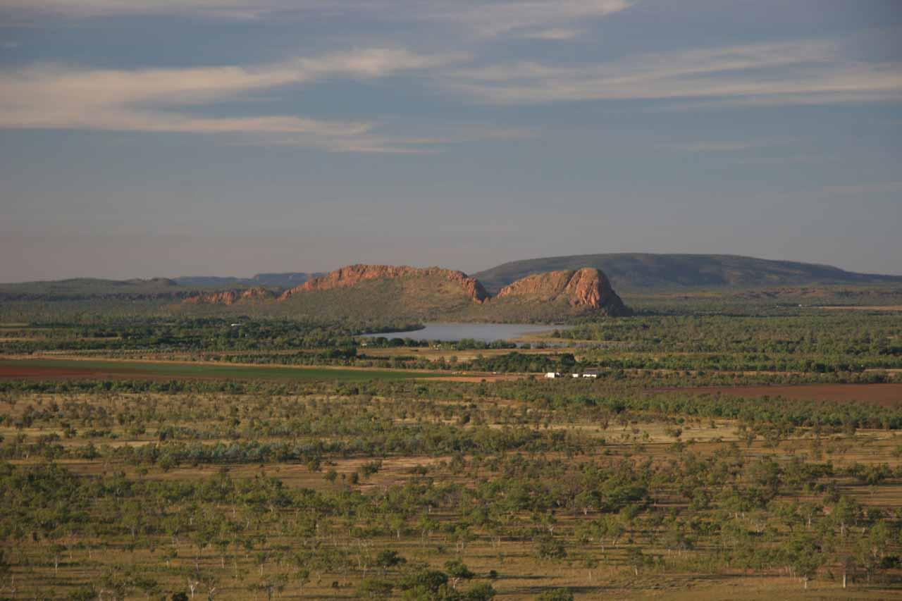 Some aerial scenery around Kununurra