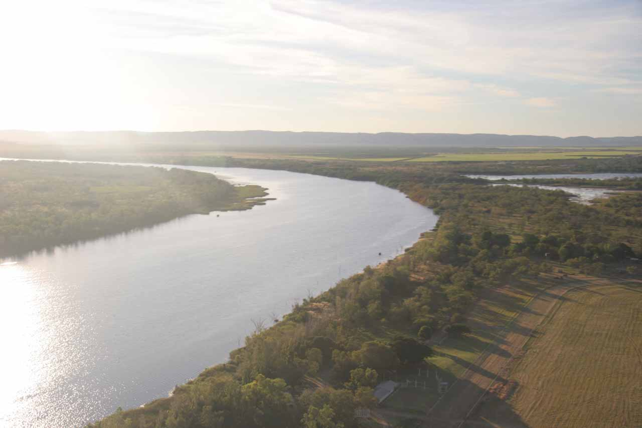 Looking over the Ord River