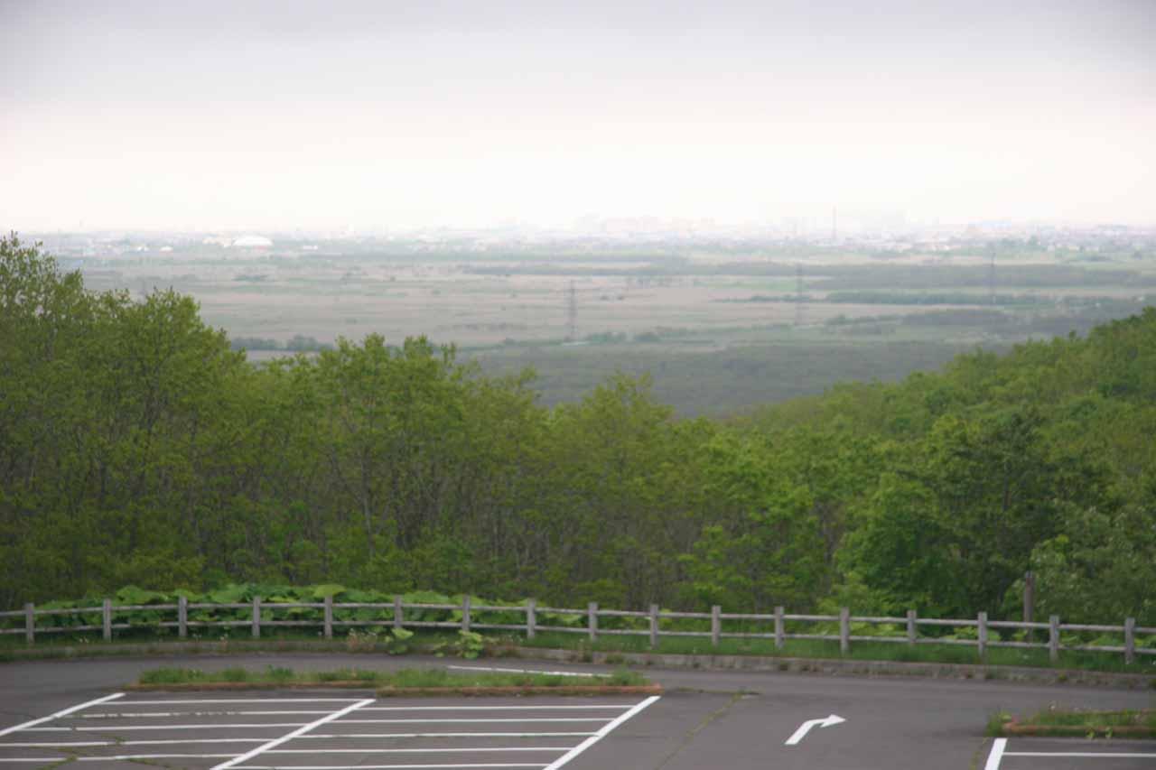 View of Kushiro Shitsugen from Hosooka Observation Platform