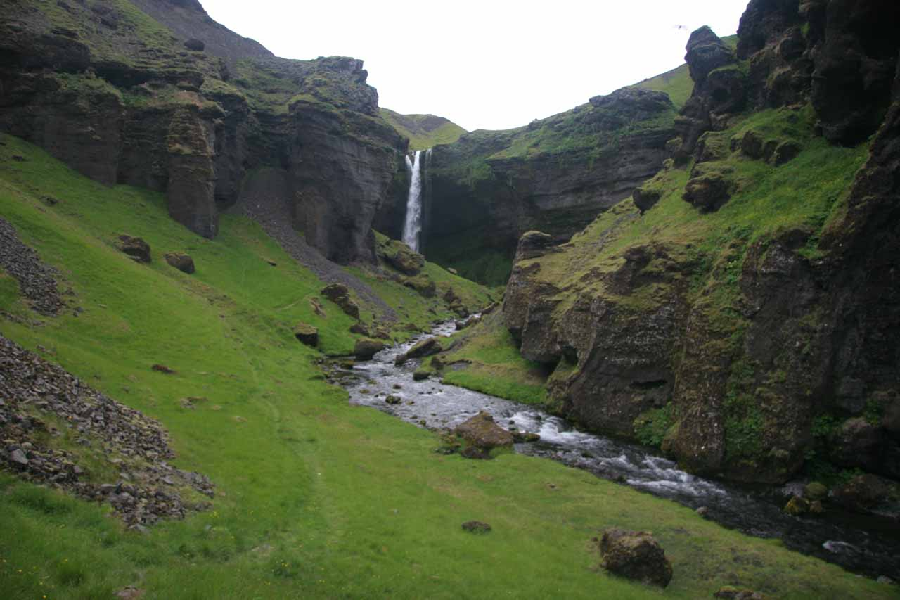 Almost at Kvernufoss