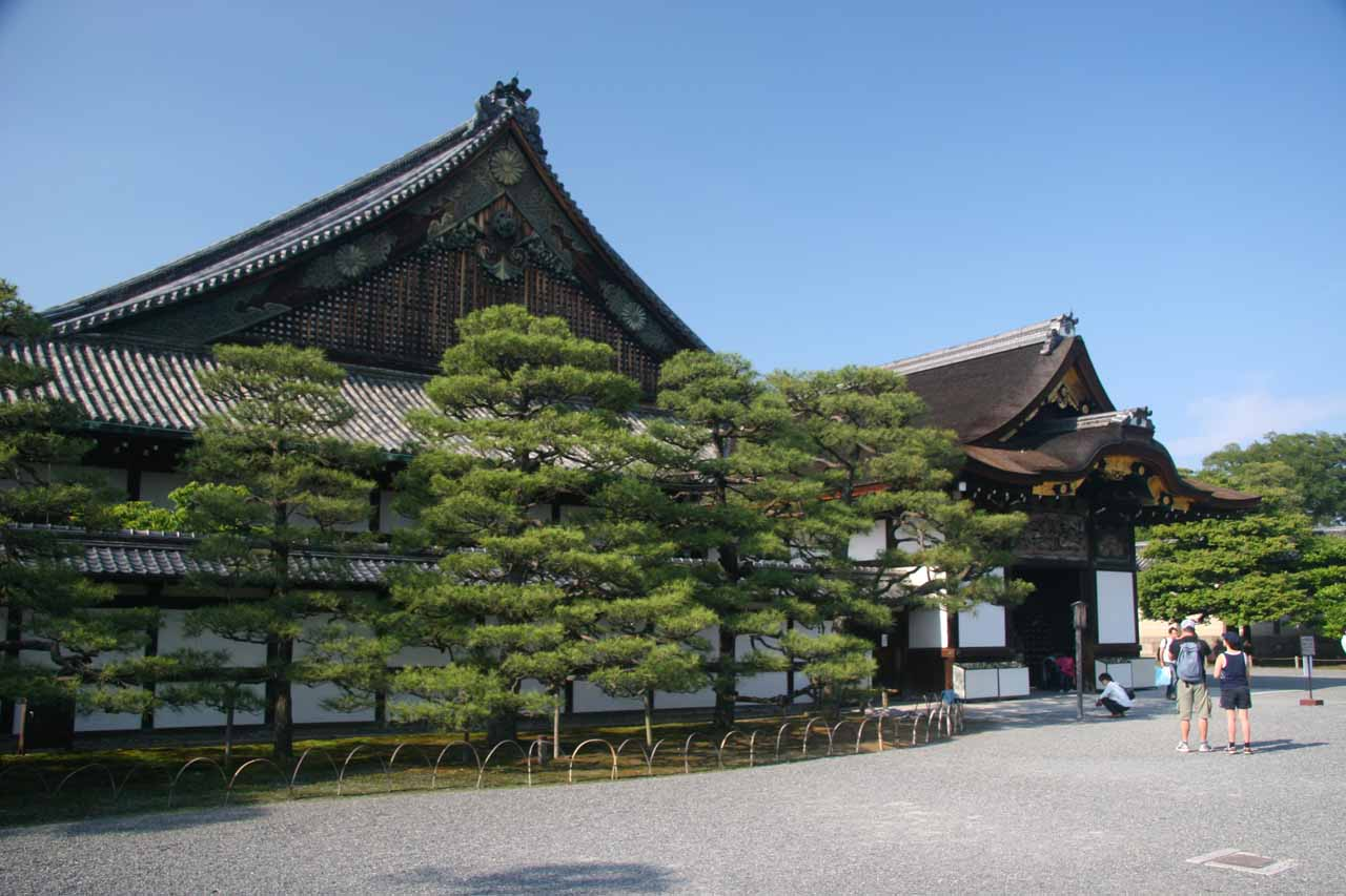 The Nijo-jo complex