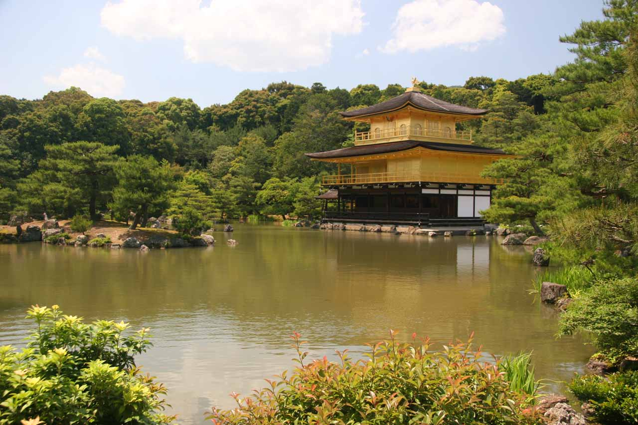 Another look at the golden Kinkaku-ji Temple