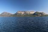 Kystriksveien_056_07082019 - Looking to the northwest towards an interesting granite plateau while on the ferry between Skarberget and Skognes