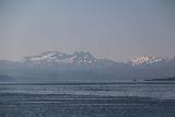 Kystriksveien_070_07082019 - Looking in the distance towards the Lofoten Islands from the ferry between Skarberget and Skognes
