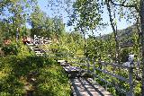 Kystriksveien_125_07082019 - Context of the walkway leading to both the shores of the Sørfjord as well as the walkway for Kobbelvfossen