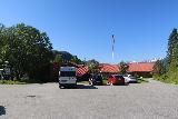 Kystriksveien_155_07082019 - Looking back at the car park for the Kobbelv Vertshus