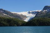 Kystriksveien_268_07082019 - Looking towards most of the Engabreen Glacier Arm beneath Svartisen as seen on the Kystriksveien Rv17