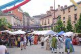 La_Granja_013_06062015 - Noticing more people in period costumes while walking the Calle de la Valenciana