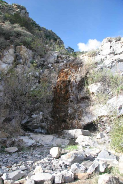 La_Jolla_Canyon_Falls_016_02082009 - La Jolla Canyon Falls also wasn't flowing when we showed up in February 2009