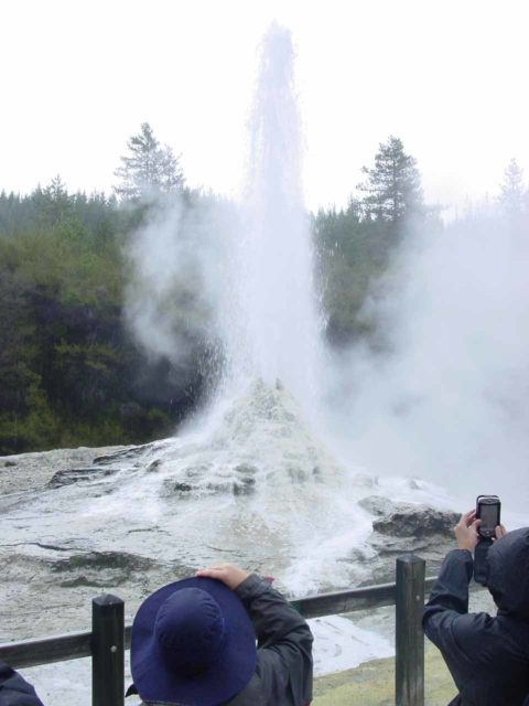 Lady_Knox_Geyser_012_11132004 - This was the Lady Knox Geyser where we showed up just in time for its controlled eruption (i.e. an employee dropping some kind of soap into the vent to induce the eruption)