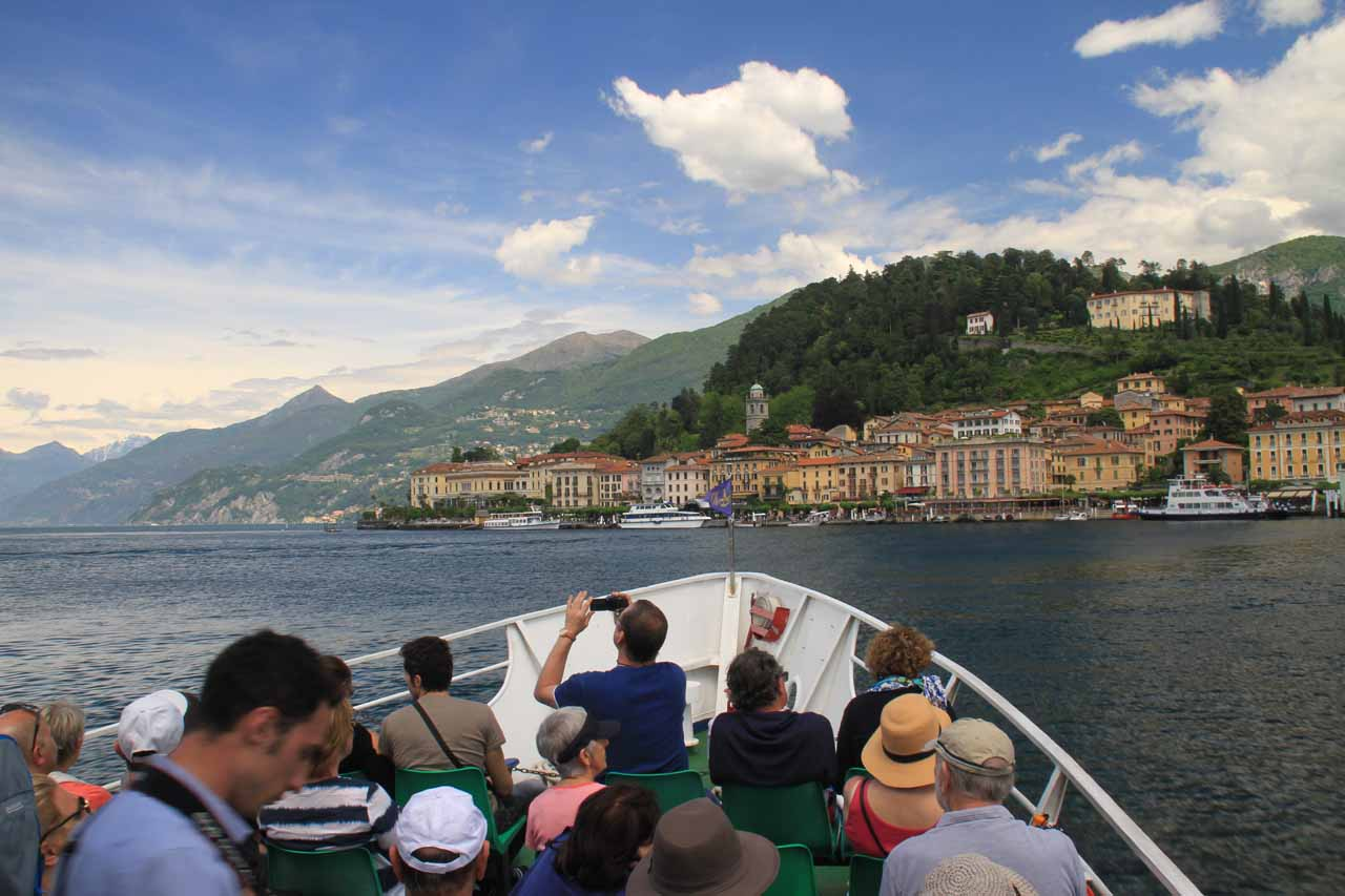 Approaching Bellagio
