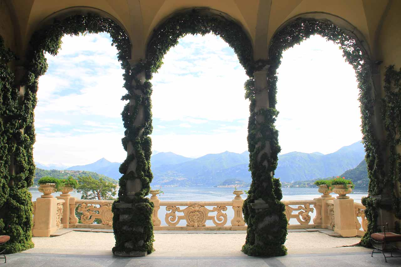 The beauty of Lake Como at the elegant and movie-magnet known as Villa Balbianello