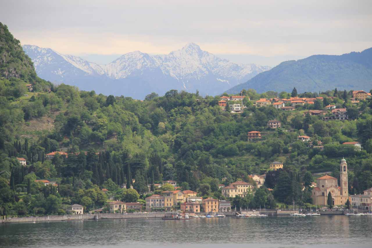 Prior to our arrival in Locarno, we were across the border in Italy staying at the charming Lago di Como, including a visit to the Villa Balbianello of Star Wars fame