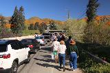 Lake_Elsinore_012_03172019 - Walking along Lake Street and some gridlock towards Walker Canyon