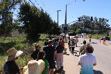 Lake_Elsinore_187_03172019 - Waiting in line for the return shuttle before the traffic light at Temescal Canyon Road