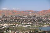 Lake_Elsinore_212_03172019 - Another towards the northern end of Lake Elsinore with the San Bernardino Mountains backing the California Poppies superbloom