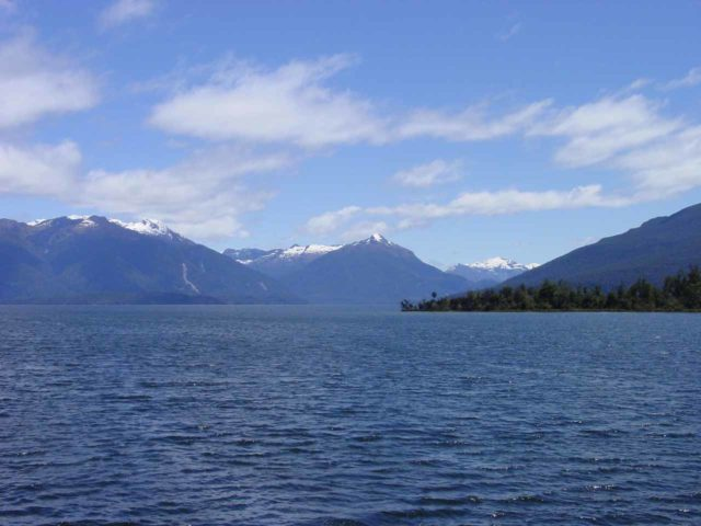 Lake_Te_Anau_002_11262004 - The first part of our Milford Track journey involved taking a boat across Lake Te Anau