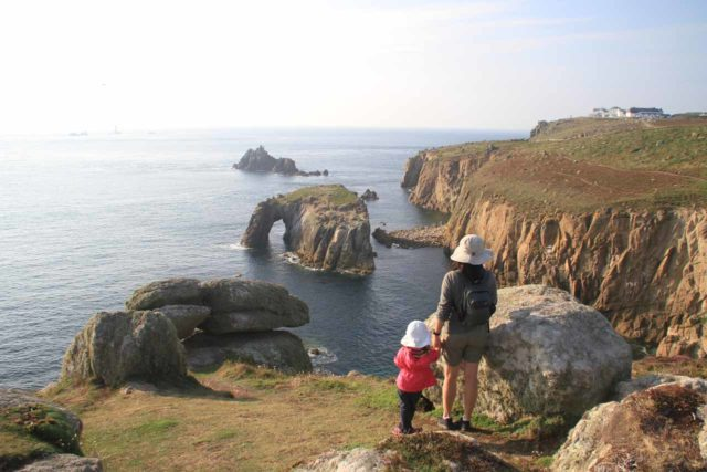 Lands_End_089_09072014 - Beautiful coastal scenery at Cornwall's Land's End