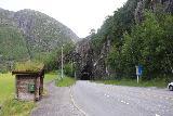 Langfossen_090_06232019 - Context of the bus stops along the E134 before the Fjaeratunnelen